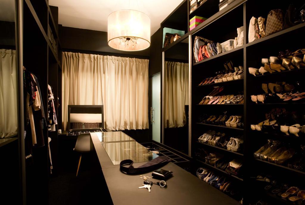 Modern, HDB, Bedroom, Balestier, Interior Designer, Free Space Intent, Chair, Furniture