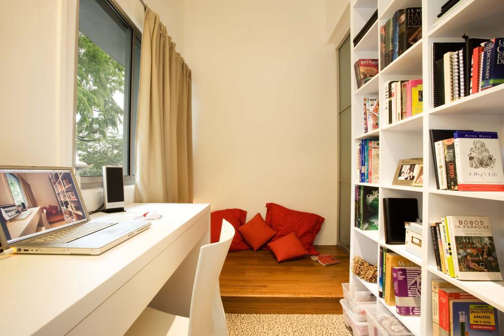 Modern, HDB, Study, Balestier, Interior Designer, Free Space Intent, Book, Indoors, Interior Design, Shelf