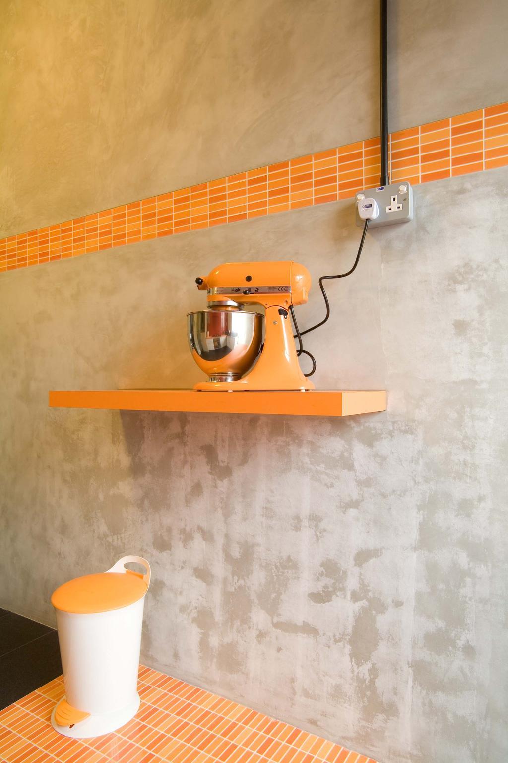 Traditional, Condo, Kitchen, East Coast (Walk Up), Interior Designer, Free Space Intent, Mixer