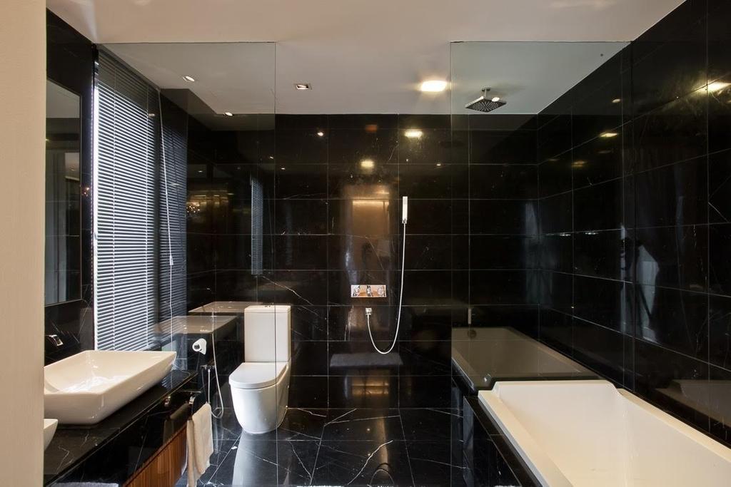Minimalistic, Landed, Lumina Kiara, Mont Kiara, Interior Designer, Klaasmen Sdn. Bhd., Contemporary, Eclectic, Toilet, Bathroom, Indoors, Interior Design, Room, Sink