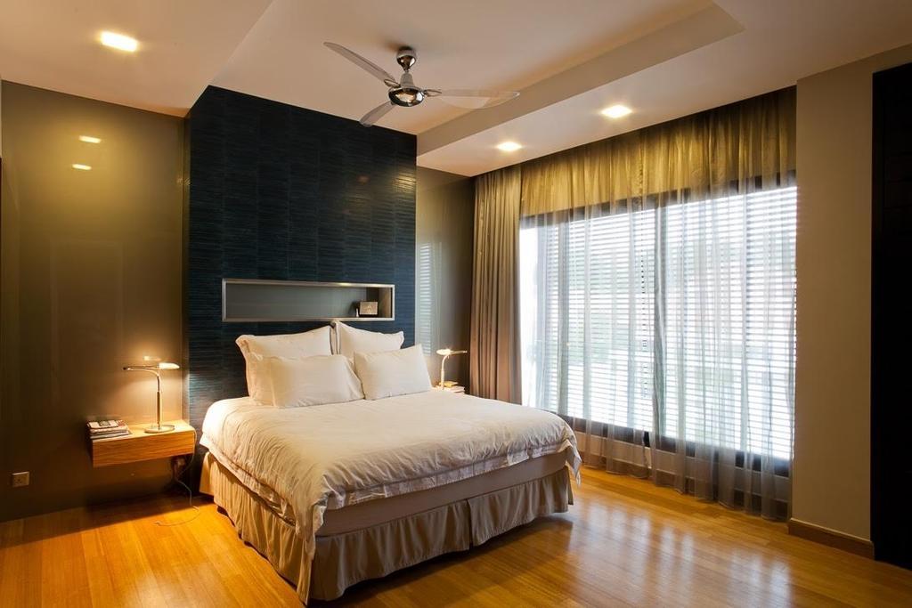 Minimalistic, Landed, Lumina Kiara, Mont Kiara, Interior Designer, Klaasmen Sdn. Bhd., Contemporary, Eclectic, Lighting, Indoors, Room, Bedroom, Interior Design