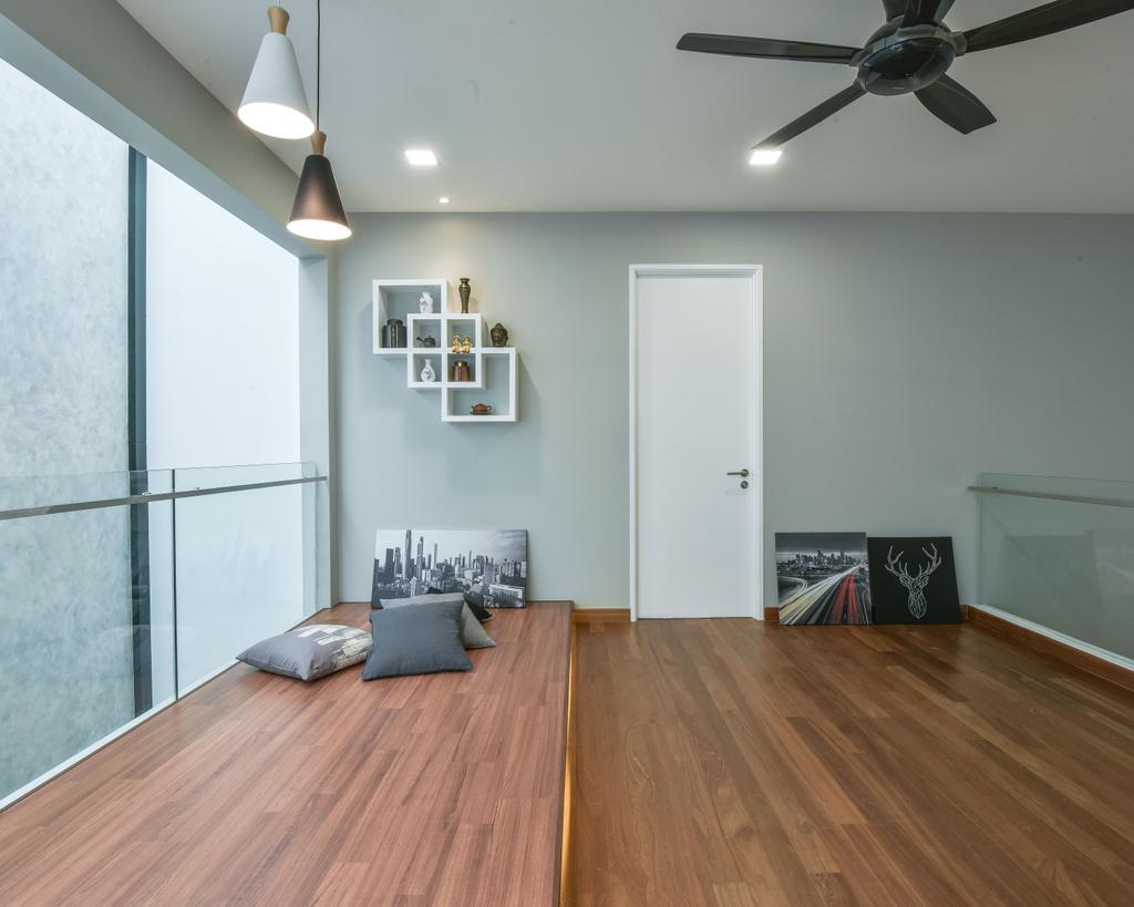 Modern, Landed, Scenaria Super Link, Interior Designer, IQI Concept Interior Design & Renovation, Minimalistic, Flooring, Apartment, Building, Housing, Indoors, Floor