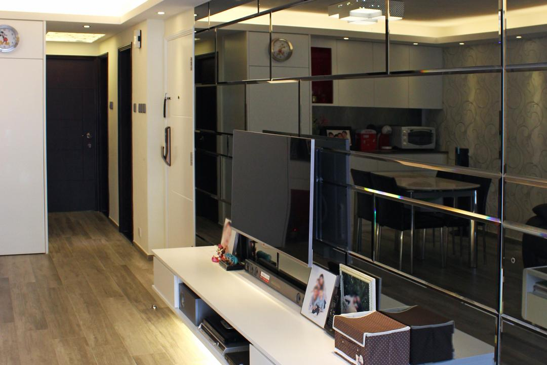 灰窰下村, CREATIVE Interior Design Engineering, 公屋/居屋, Appliance, Electrical Device, Microwave, Oven