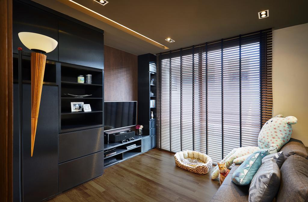 Condo, Study, One Surin, Interior Designer, Black N White Haus