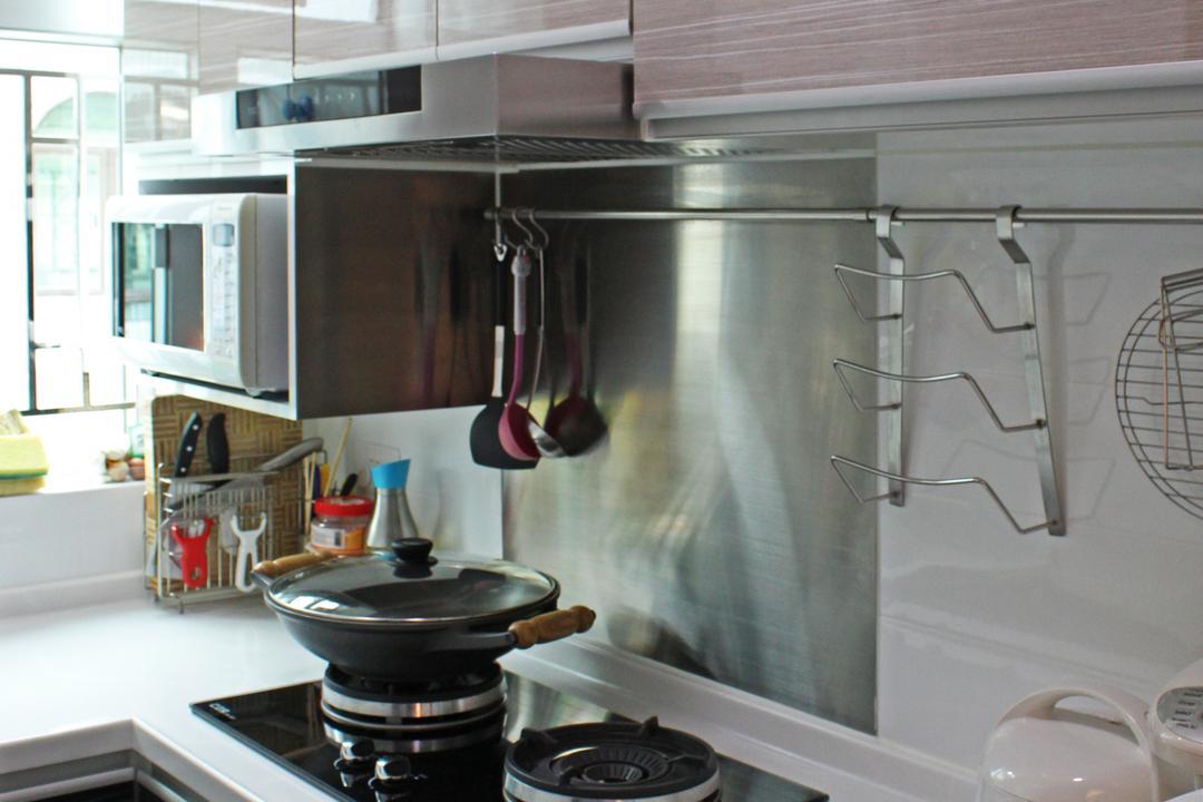 灰窰下村, CREATIVE Interior Design Engineering, 廚房, 公屋/居屋, Appliance, Electrical Device, Microwave, Oven