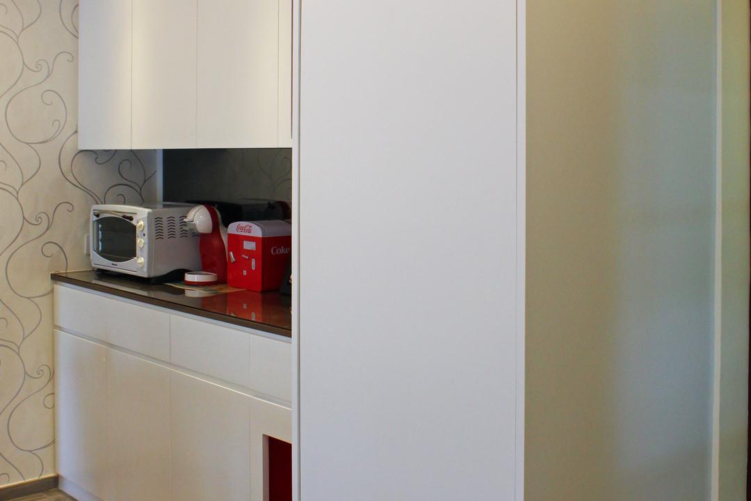 灰窰下村, CREATIVE Interior Design Engineering, 客廳, 公屋/居屋, Appliance, Electrical Device, Microwave, Oven
