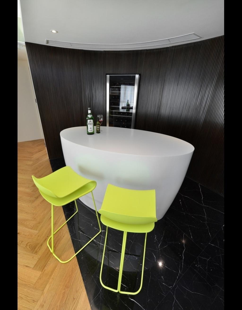 隨性, 私家樓, 逸濤灣, 室內設計師, KOO interior design, 當代, Chair, Furniture, Door, Sliding Door