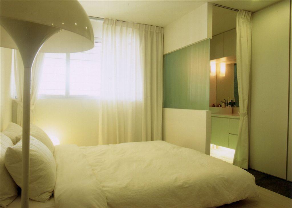 Industrial, HDB, Bedroom, Tampines, Interior Designer, Free Space Intent, Indoors, Interior Design, Room, Bed, Furniture