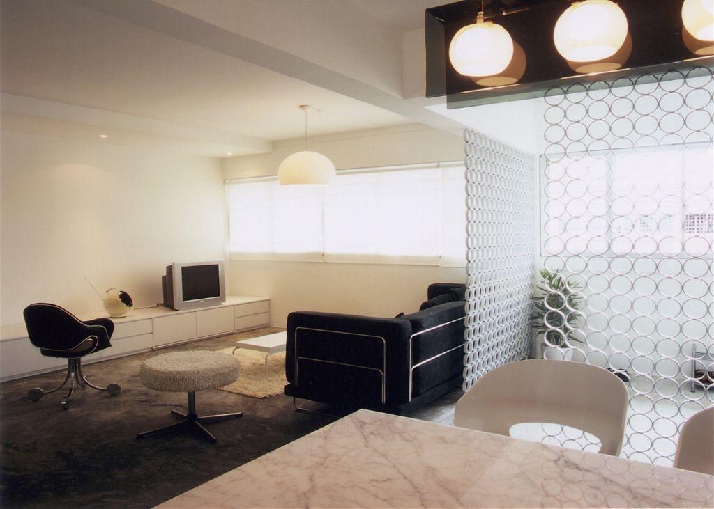 Industrial, HDB, Living Room, Tampines, Interior Designer, Free Space Intent, Chair, Furniture, Electronics, Entertainment Center, Indoors, Interior Design