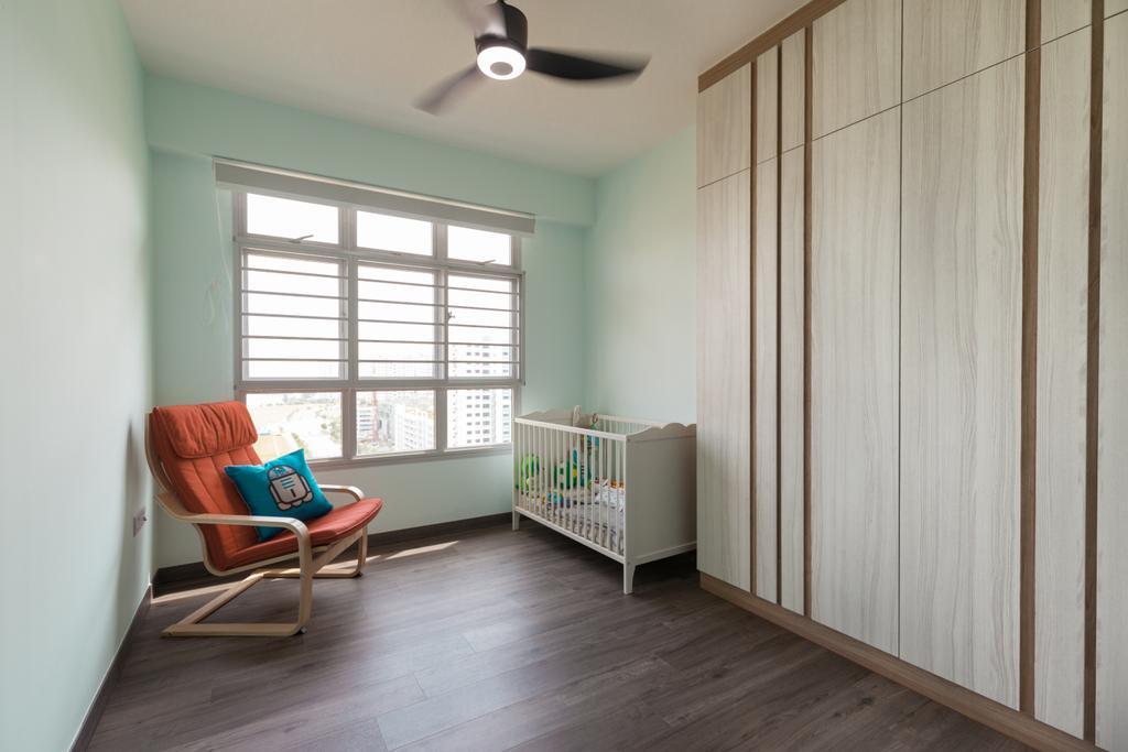 Minimalistic, HDB, Study, Sumang Lane (Block 226C), Interior Designer, Project Guru, Contemporary, Crib, Furniture, Chair, Indoors, Interior Design