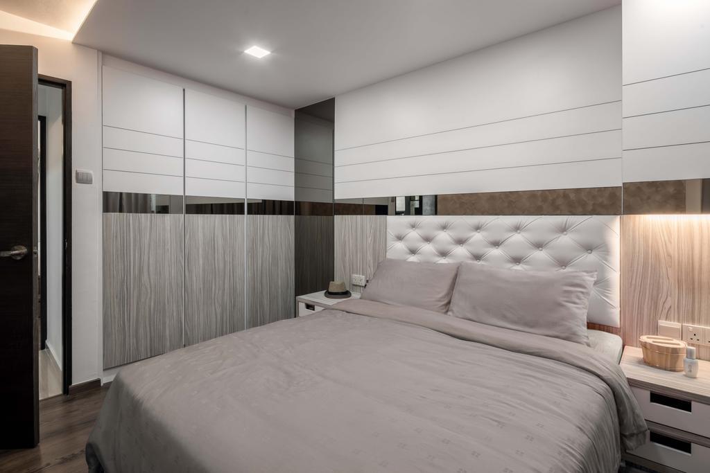 Modern, HDB, Bedroom, Marsiling Drive, Interior Designer, Weiken.com
