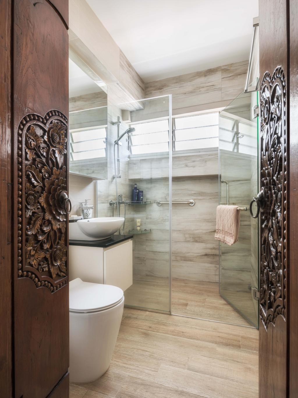 Traditional, HDB, Bathroom, Pasir Ris Drive 10, Interior Designer, Weiken.com, Indoors, Interior Design, Room