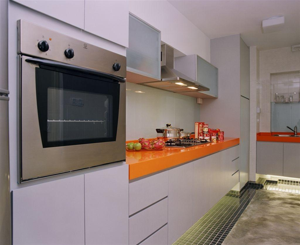 Eclectic, HDB, Kitchen, Edgefield Plains, Interior Designer, Free Space Intent, Appliance, Electrical Device, Oven, Indoors, Interior Design, Room