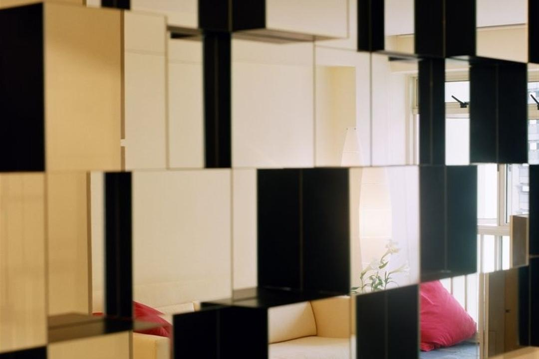 Edgefield Plains, Free Space Intent, Eclectic, Dining Room, HDB, Canopy, Umbrella, Door, Sliding Door