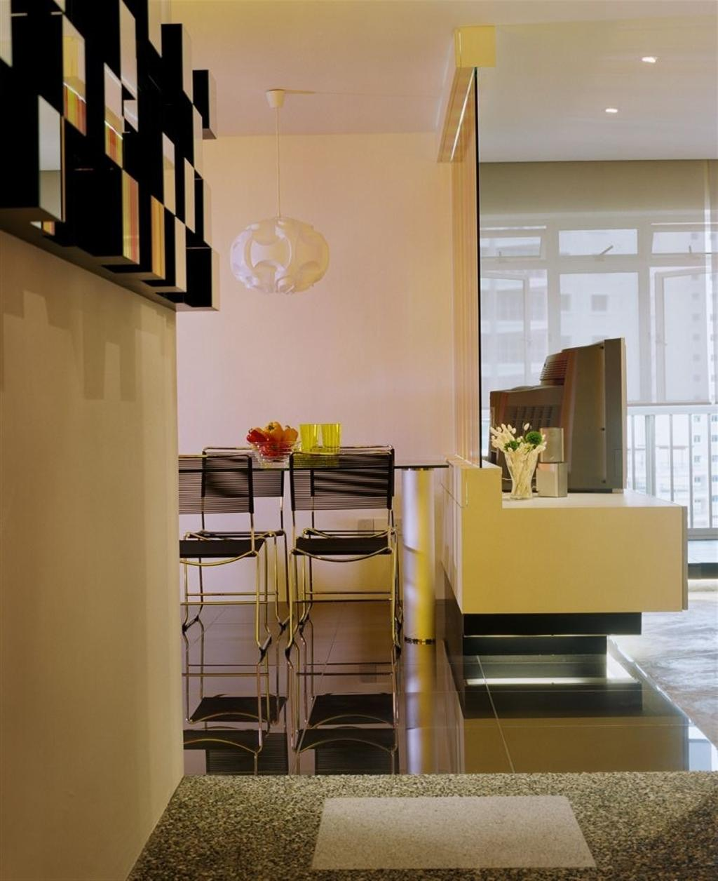 Eclectic, HDB, Dining Room, Edgefield Plains, Interior Designer, Free Space Intent, Indoors, Interior Design, Room