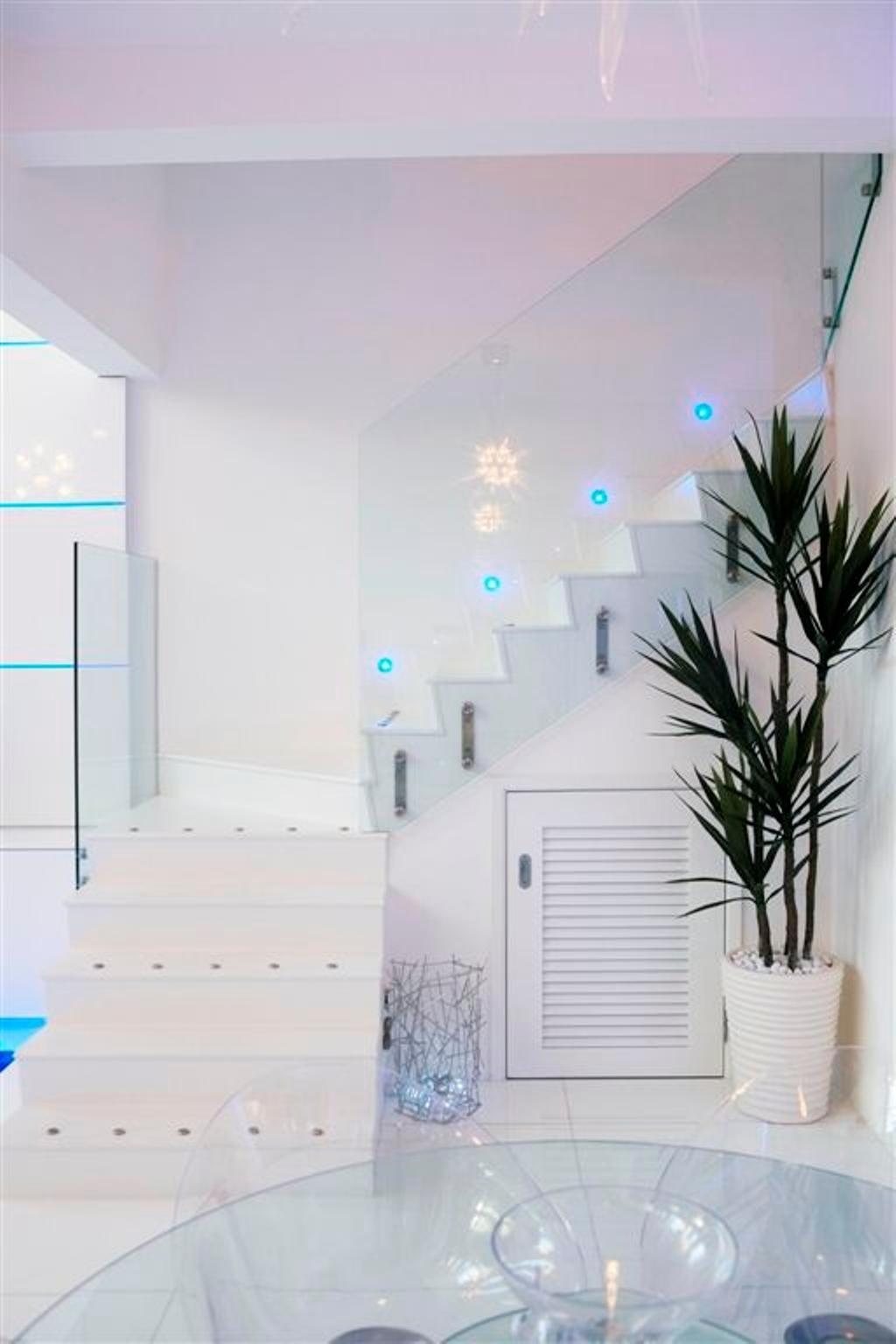 Transitional, Landed, Living Room, Sembawang, Interior Designer, Free Space Intent, Siding, Flora, Jar, Plant, Potted Plant, Pottery, Vase