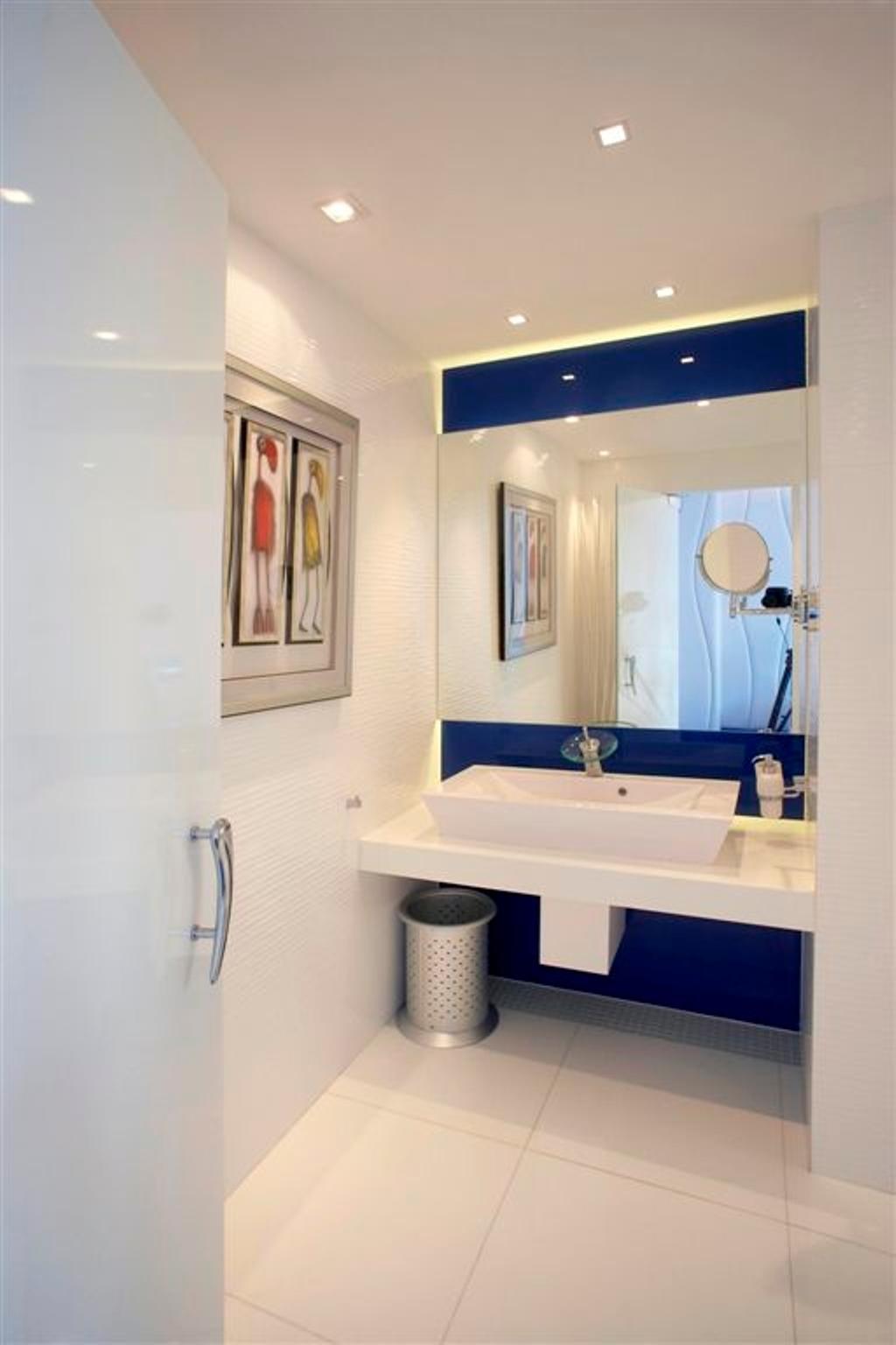 Transitional, Landed, Bathroom, Sembawang, Interior Designer, Free Space Intent, Sink, Indoors, Interior Design, Room, Filter, Shower