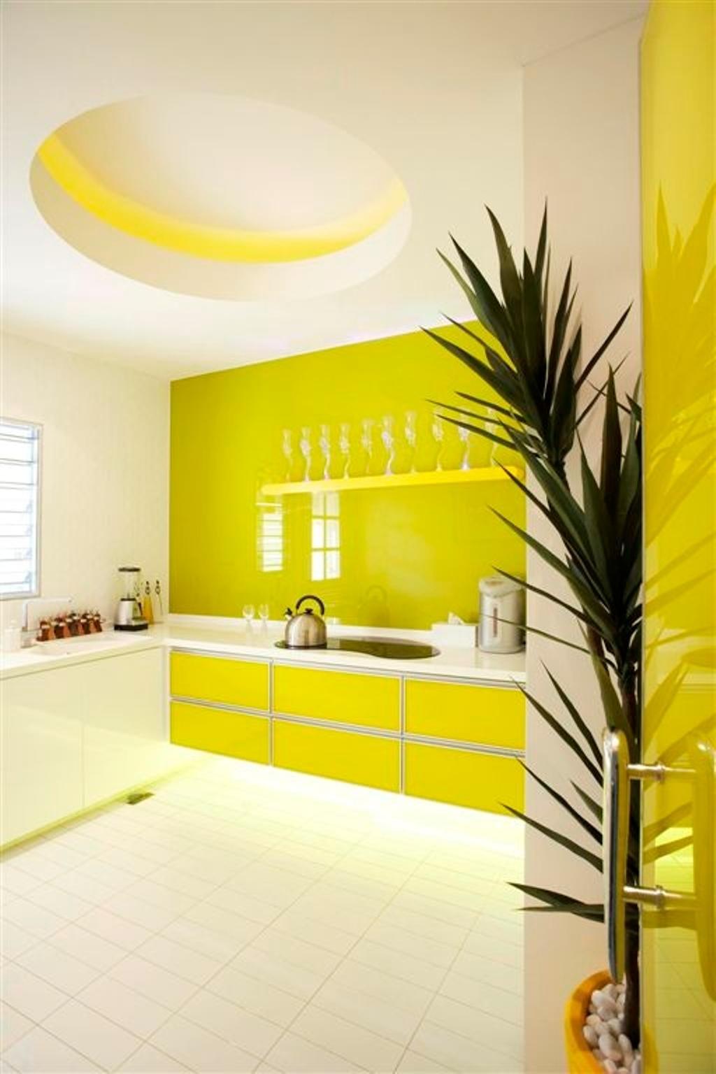 Transitional, Landed, Kitchen, Sembawang, Interior Designer, Free Space Intent, Bathroom, Indoors, Interior Design, Room