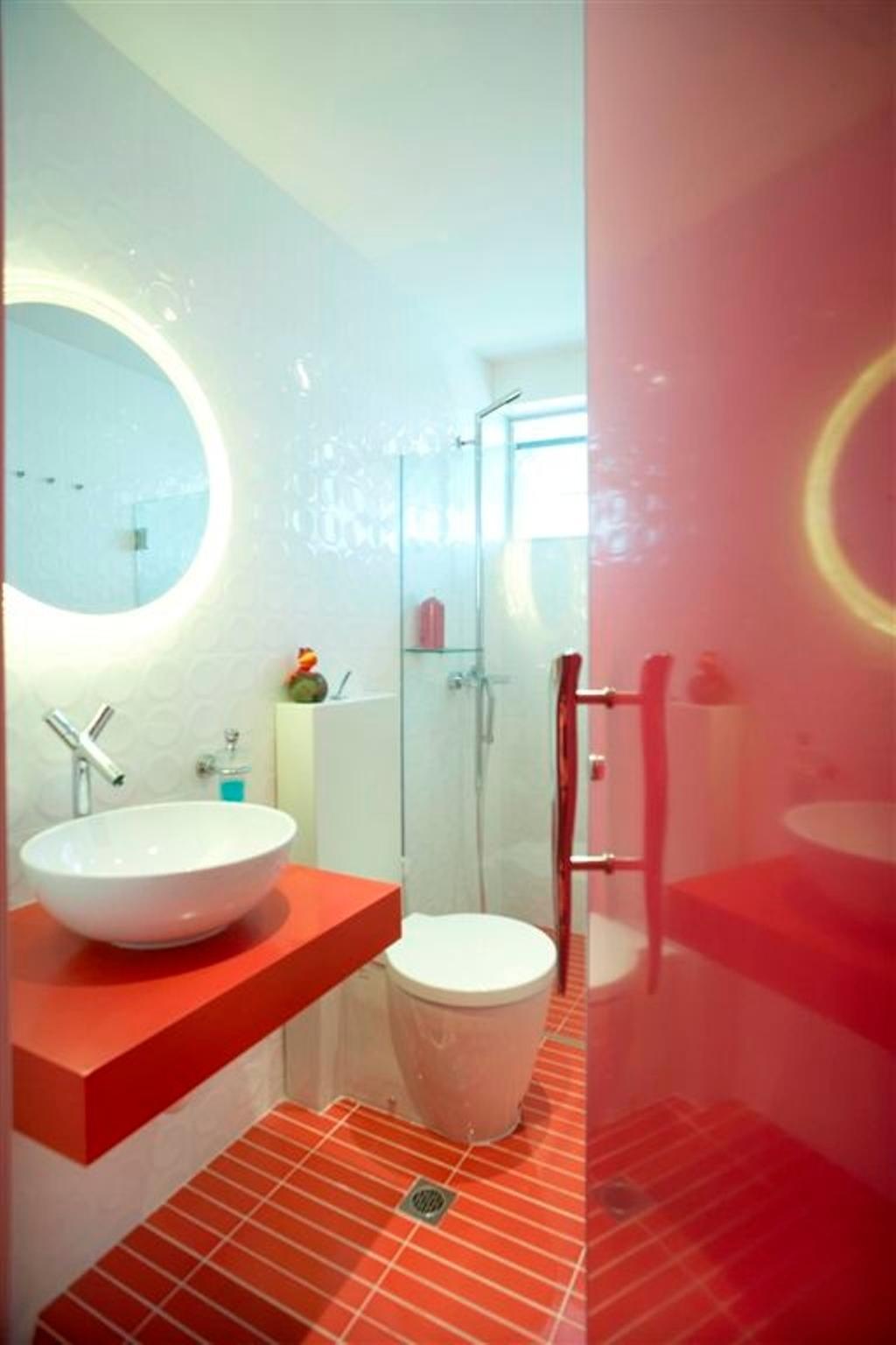 Transitional, Landed, Sembawang, Interior Designer, Free Space Intent, Bathroom, Indoors, Interior Design, Room