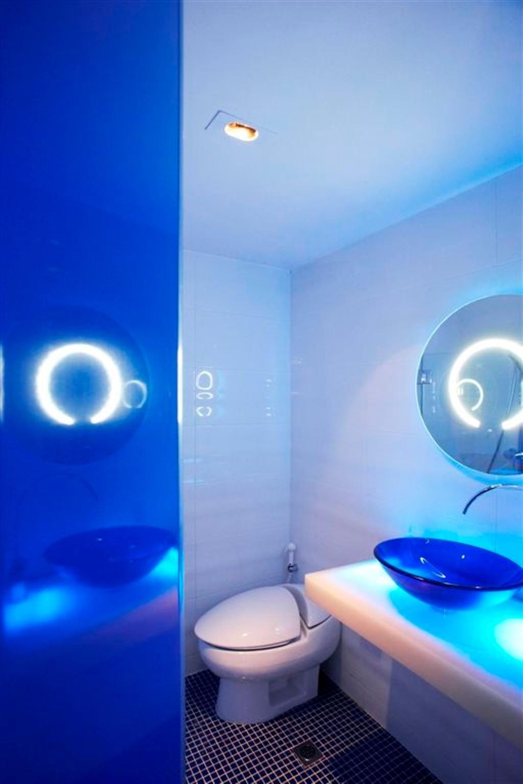 Transitional, Landed, Bathroom, Sembawang, Interior Designer, Free Space Intent