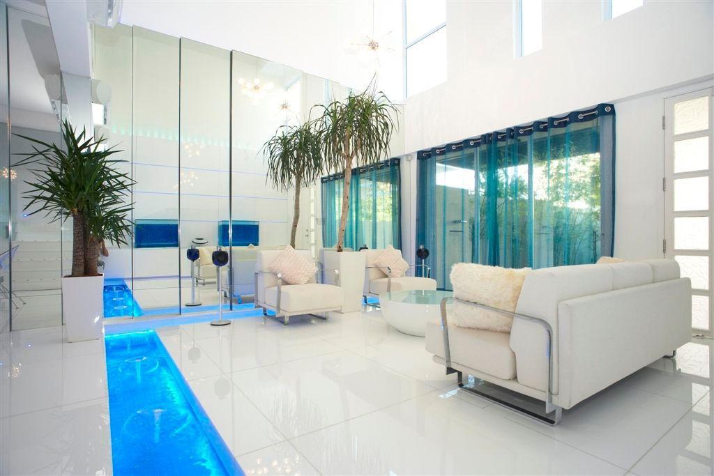 Transitional, Landed, Living Room, Sembawang, Interior Designer, Free Space Intent, Couch, Furniture, Flora, Jar, Plant, Potted Plant, Pottery, Vase