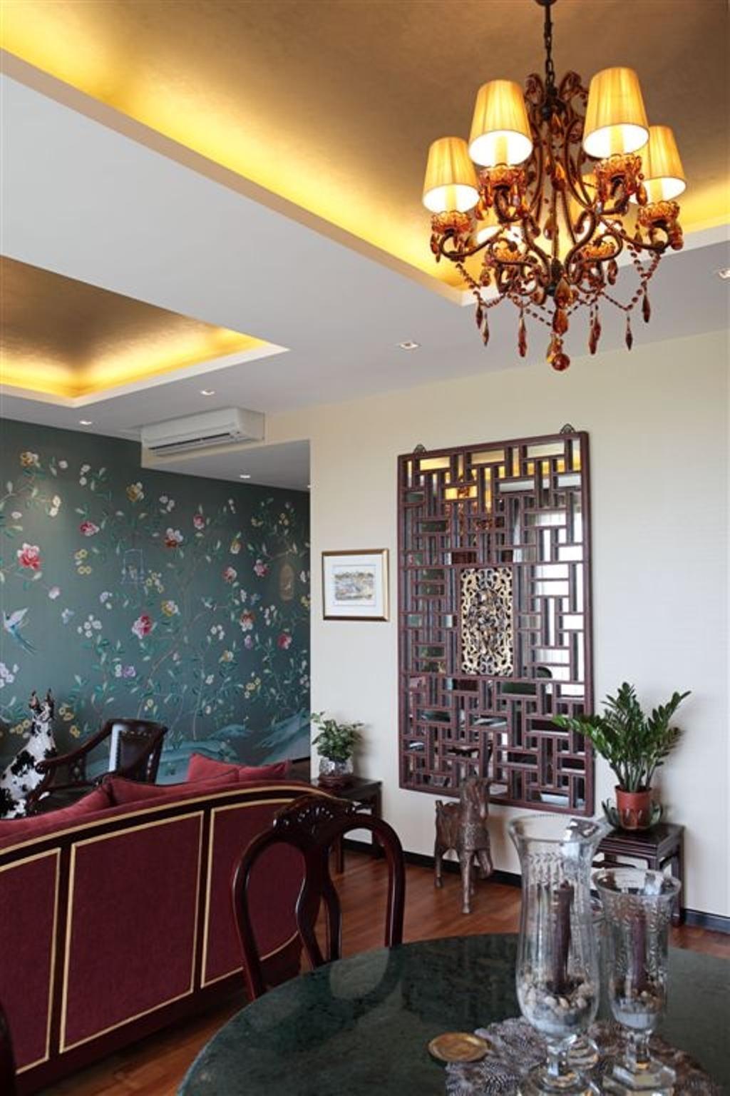 Vintage, Condo, Living Room, Mounbatten Riveredge, Interior Designer, Free Space Intent, Furniture, Apartment Building, Building, City, High Rise, Town, Urban