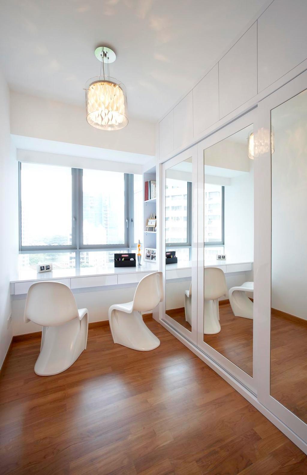 Contemporary, Condo, Study, Pavillion, Interior Designer, Free Space Intent, Dining Room, Indoors, Interior Design, Room, Toilet