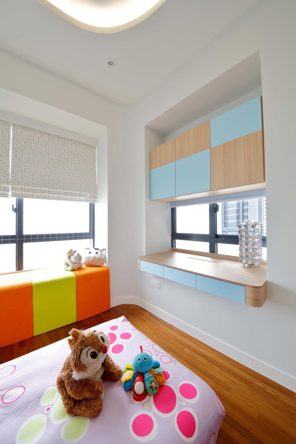 Contemporary, Condo, Bedroom, D'Leedon, Interior Designer, Free Space Intent, Indoors, Interior Design