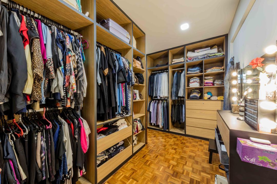 Florence Regency, Ciseern, Industrial, Condo, Apparel, Clothing, Closet, Furniture, Wardrobe