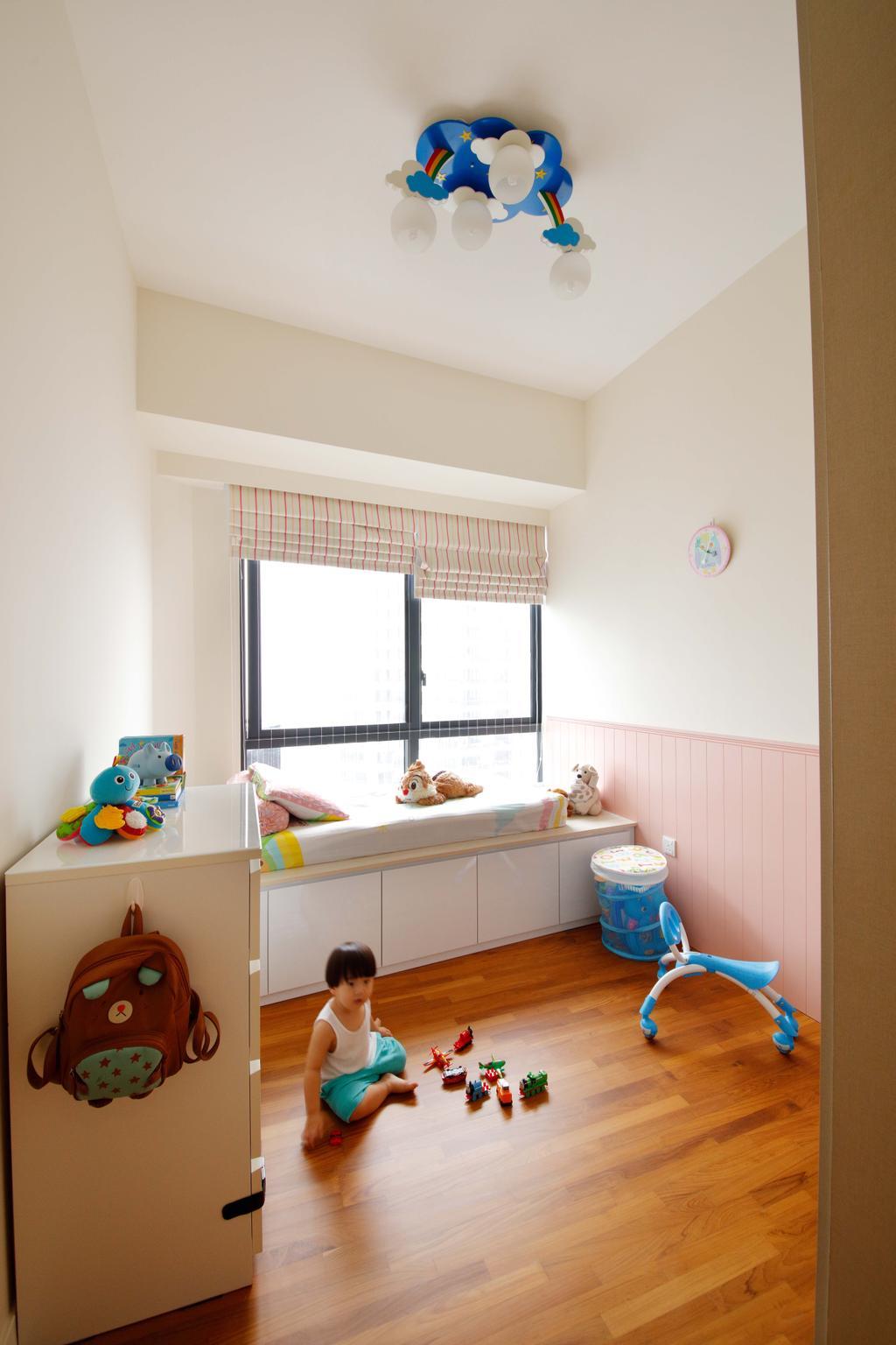 Contemporary, Condo, Bedroom, D'Leedon, Interior Designer, Free Space Intent, Cup, Toy