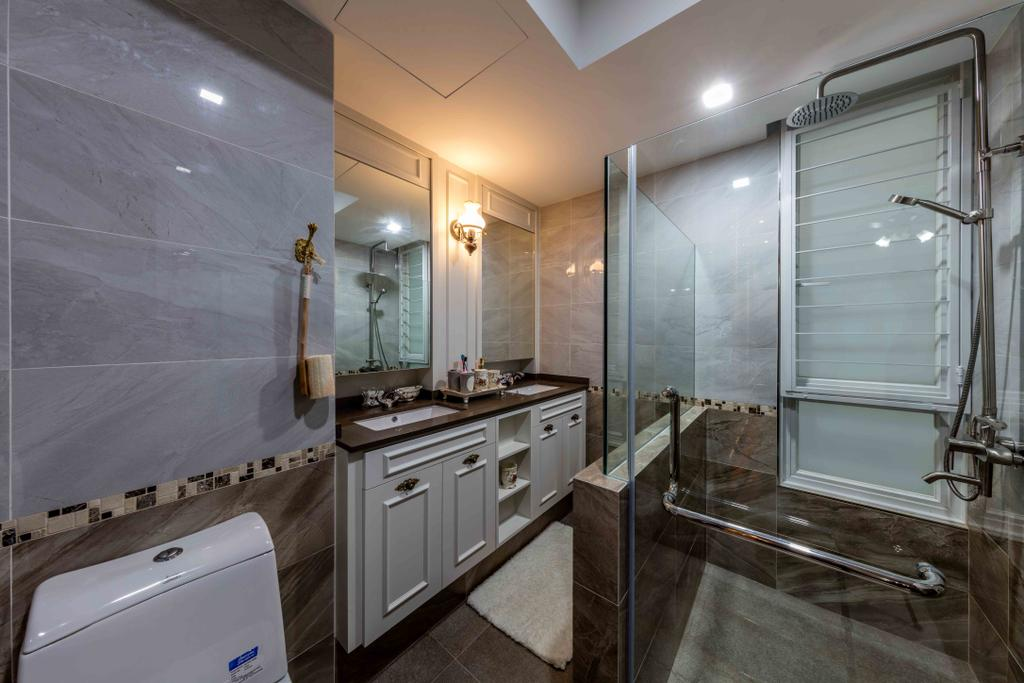 Modern, Condo, Bathroom, Mi Casa, Interior Designer, Ciseern, Indoors, Interior Design, Kitchen, Room, Appliance, Electrical Device, Oven, Plumbing