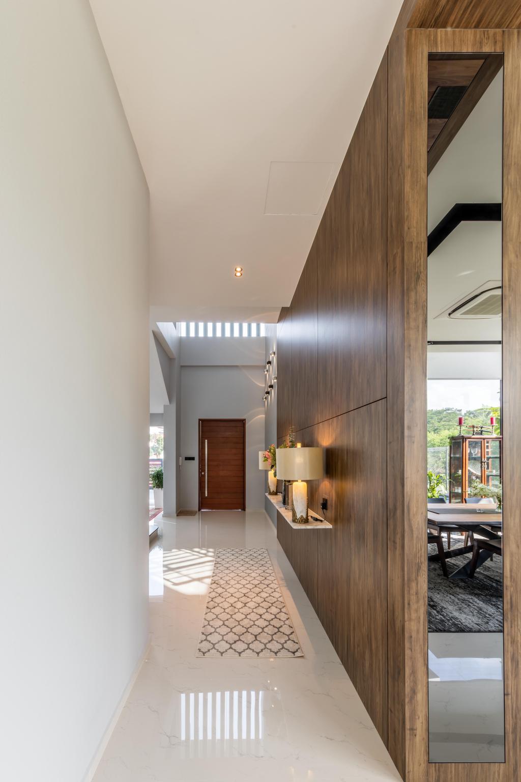Contemporary, Landed, Living Room, Springleaf Crescent, Interior Designer, Ciseern, Indoors, Interior Design, Window, Door, Bathroom, Room, Dining Table, Furniture, Table