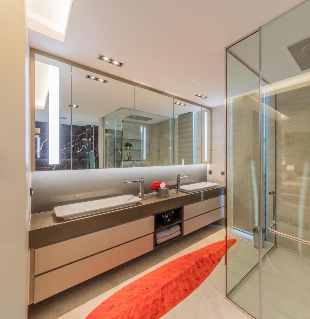 Contemporary, Landed, Bathroom, Springleaf Crescent, Interior Designer, Ciseern