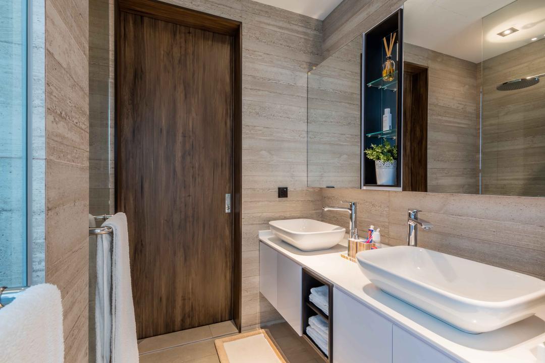 Springleaf Crescent, Ciseern, Contemporary, Bathroom, Landed, Sink, Indoors, Interior Design, Room, Towel, Jacuzzi, Tub