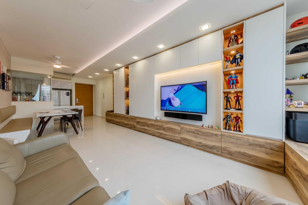 The Quartz Living Room Interior Design 3