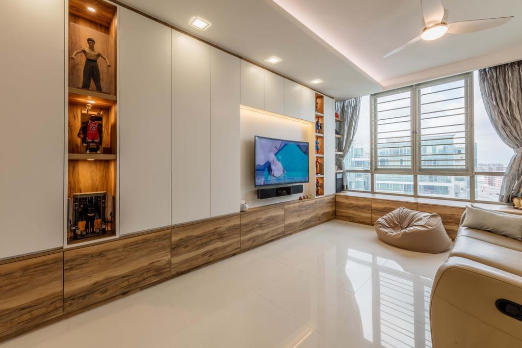Contemporary, Condo, Living Room, The Quartz, Interior Designer, Ciseern, Indoors, Interior Design