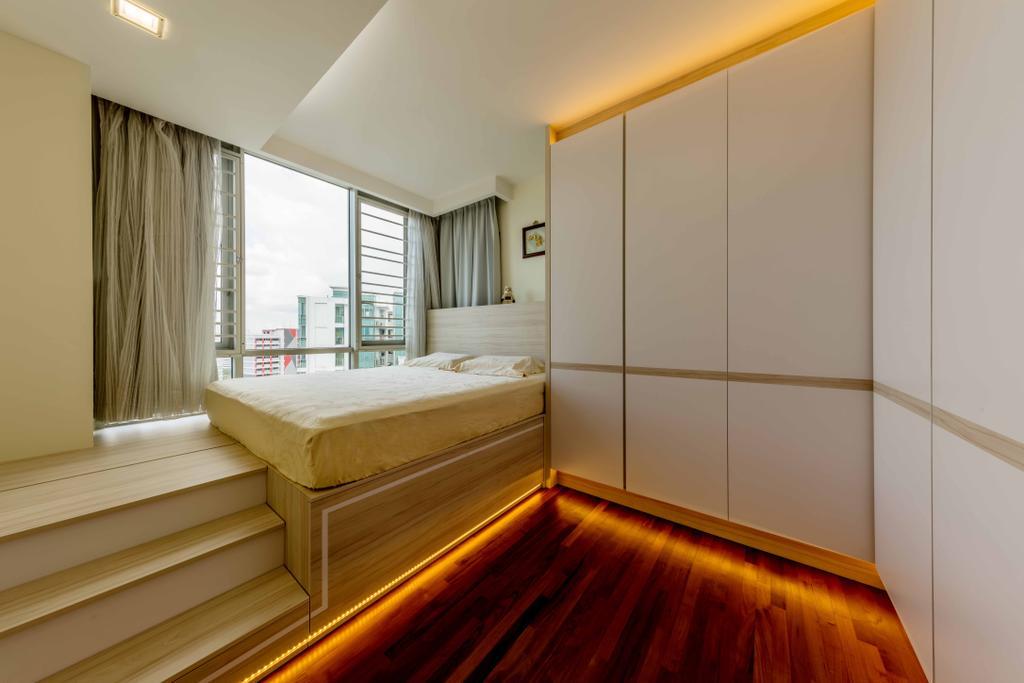 Contemporary, Condo, Bedroom, The Quartz, Interior Designer, Ciseern, Bed, Furniture