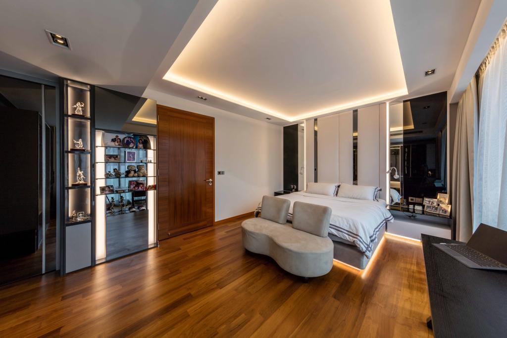 Modern, Landed, Bedroom, The Whitley Residences, Interior Designer, Ciseern, Indoors, Interior Design