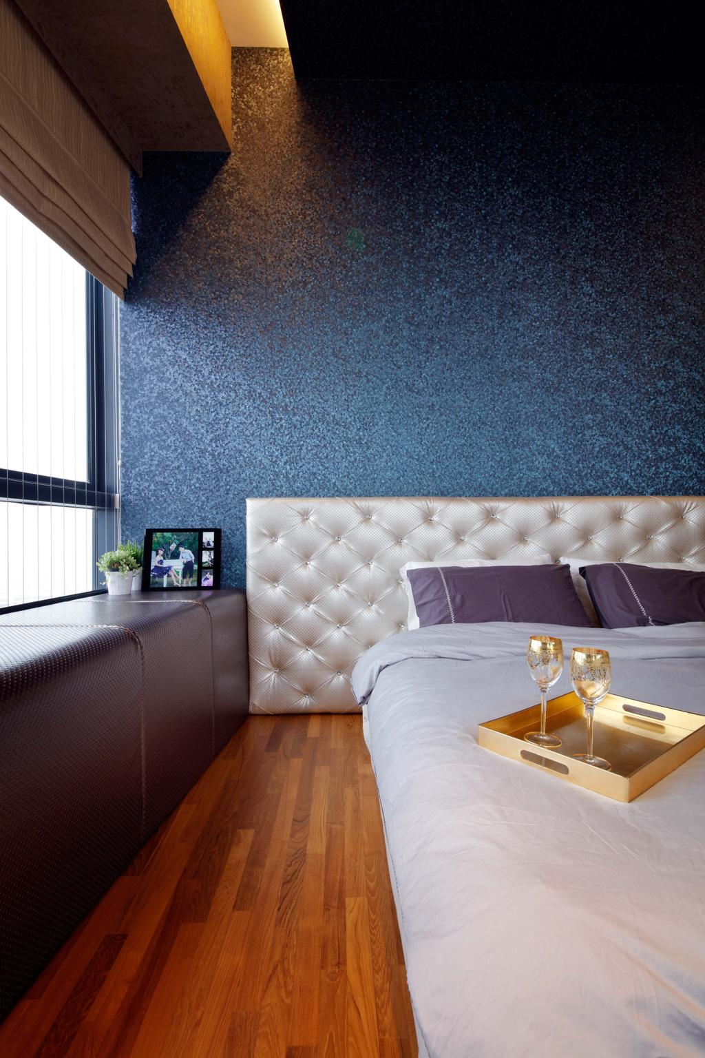 Contemporary, Condo, Bedroom, D'Leedon, Interior Designer, Free Space Intent, Couch, Furniture