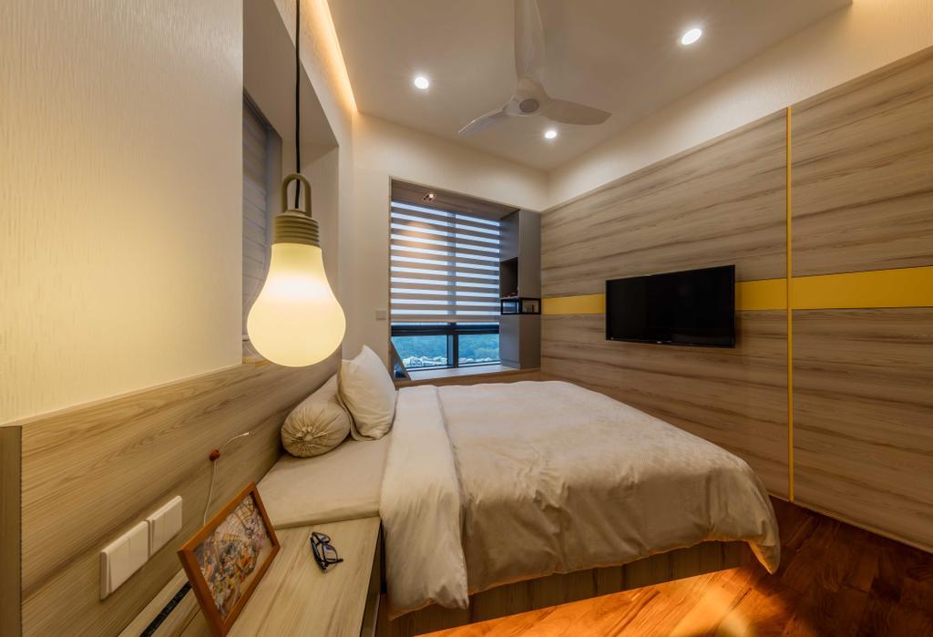 Modern, Condo, Bedroom, D'Leedon, Interior Designer, Ciseern, Appliance, Electrical Device, Microwave, Oven