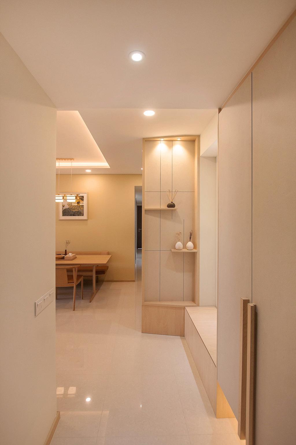 Modern, Condo, Living Room, Vue 8, Interior Designer, Space Atelier, Scandinavian, Dining Table, Furniture, Table