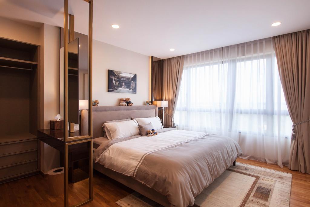 Modern, Condo, Bedroom, Vue 8, Interior Designer, Space Atelier, Scandinavian, Indoors, Interior Design, Room