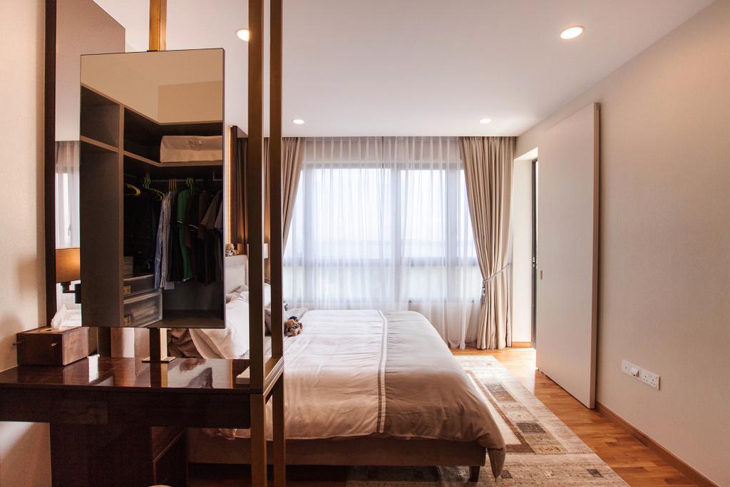 Modern, Condo, Bedroom, Vue 8, Interior Designer, Space Atelier, Scandinavian, Closet, Furniture, Wardrobe, Indoors, Interior Design, Chair