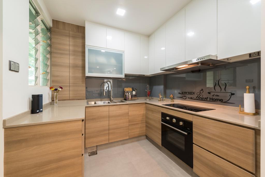 Modern, Condo, Kitchen, Hillview Avenue (Block 51A), Interior Designer, Meter Square, Appliance, Electrical Device, Oven, Indoors, Interior Design, Room