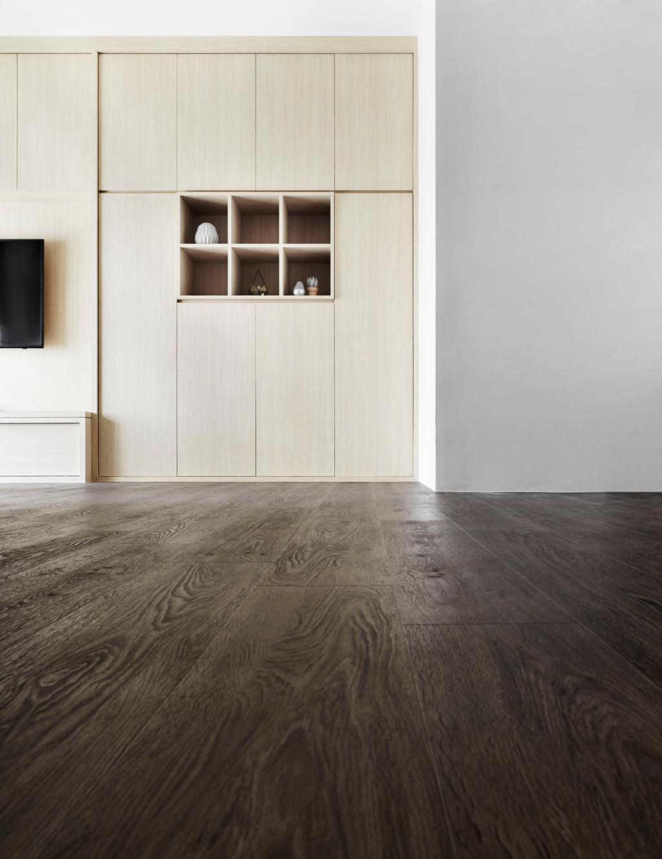Minimalistic, HDB, Living Room, Edgedale Plains, Interior Designer, Dan's Workshop, Scandinavian, Flooring