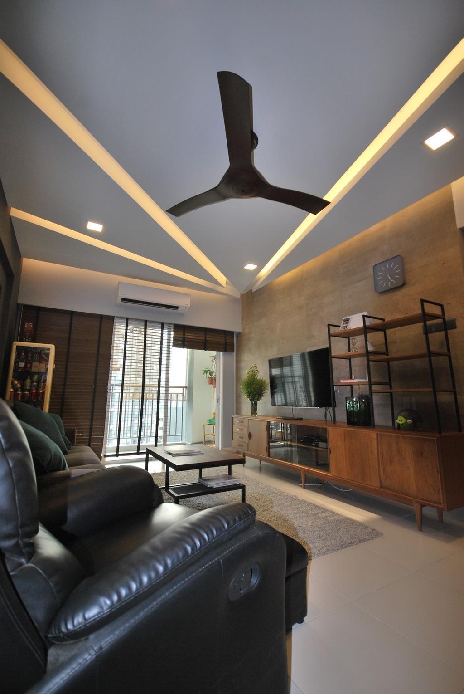 Industrial, Condo, Casa Tropicana, Interior Designer, The Grid Studio, Contemporary, Eclectic, Modern, Indoors, Interior Design