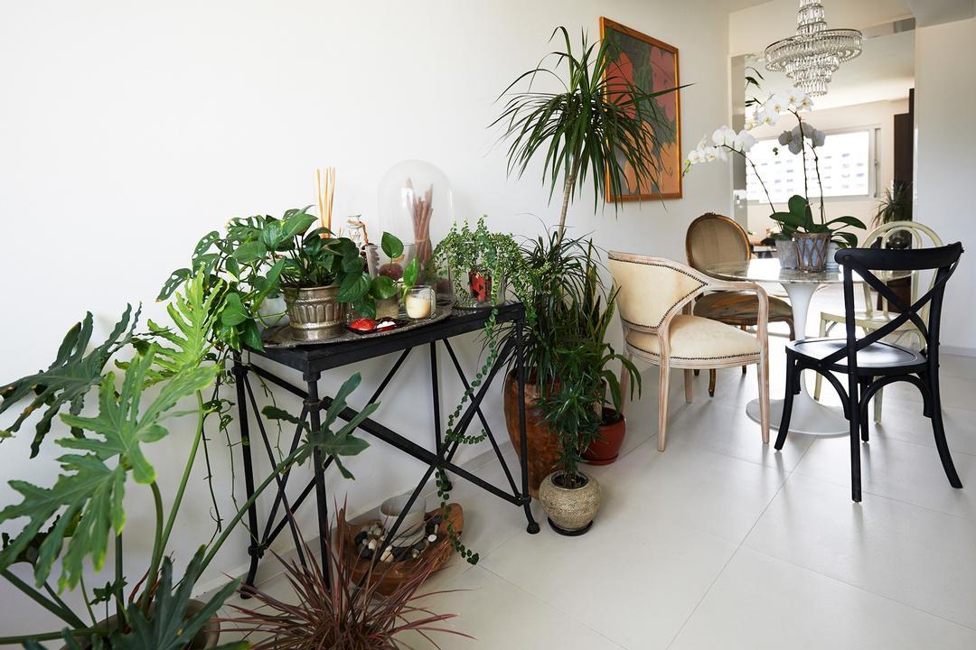 Telok Blangah Way, Create, Vintage, Living Room, HDB, Flora, Jar, Plant, Potted Plant, Pottery, Vase, Dining Table, Furniture, Table, Chair, Dining Room, Indoors, Interior Design, Room, Aloe