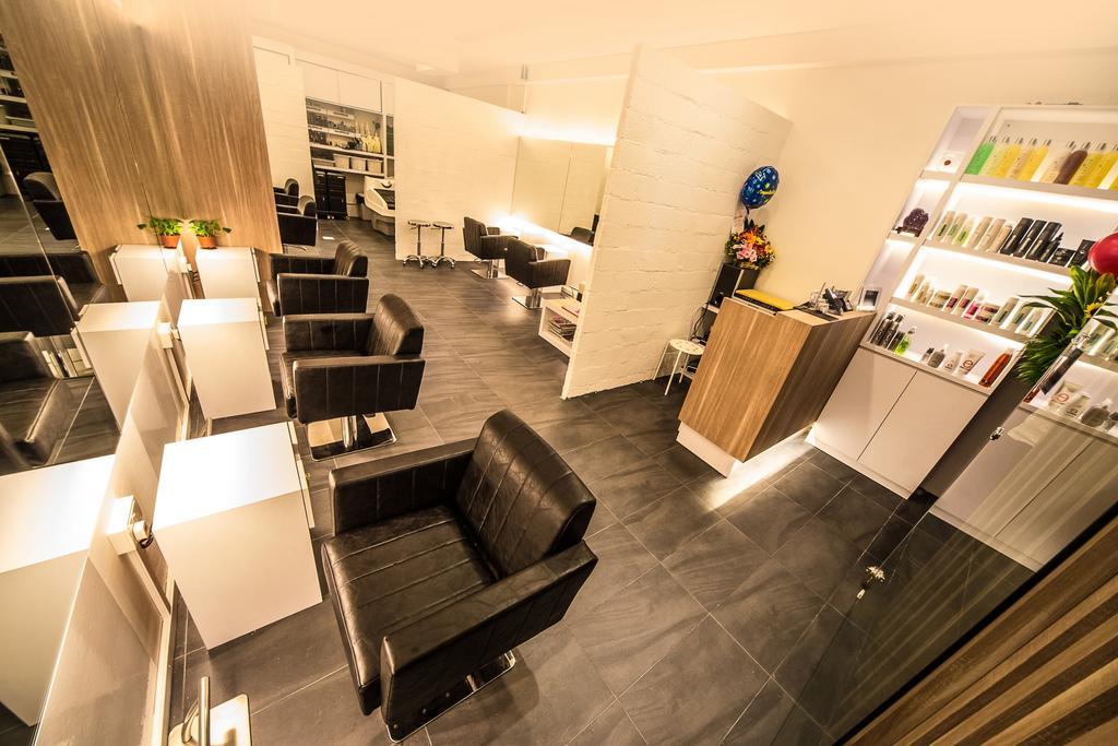 Starlight Hair Salon, Commercial, Interior Designer, Edge Interior, Contemporary, Chair, Furniture