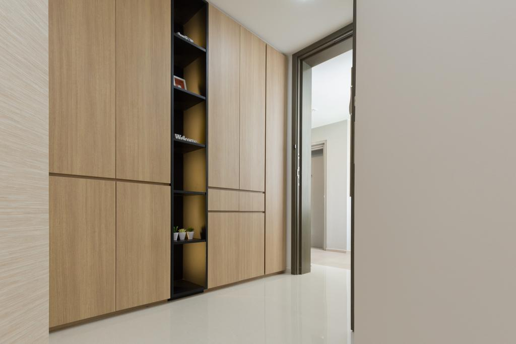 Modern, Condo, Bedroom, Riverbank @ Fernvale, Interior Designer, Charlotte's Carpentry