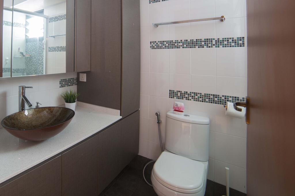 Modern, HDB, Bathroom, Punggol Field (Block 259C ), Interior Designer, Juz Interior, Toilet